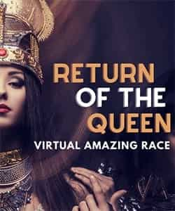 virtual amazing race - return of the queen