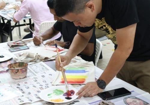Art Jamming - Team Building Activities Singapore
