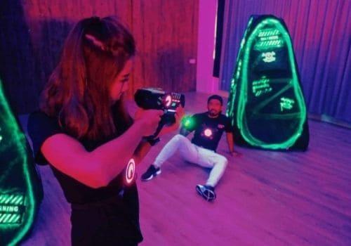 Laser Tag - Team Building Activities Singapore
