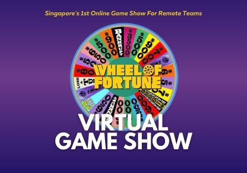 Virtual Game Show - Birthday Activities Singapore