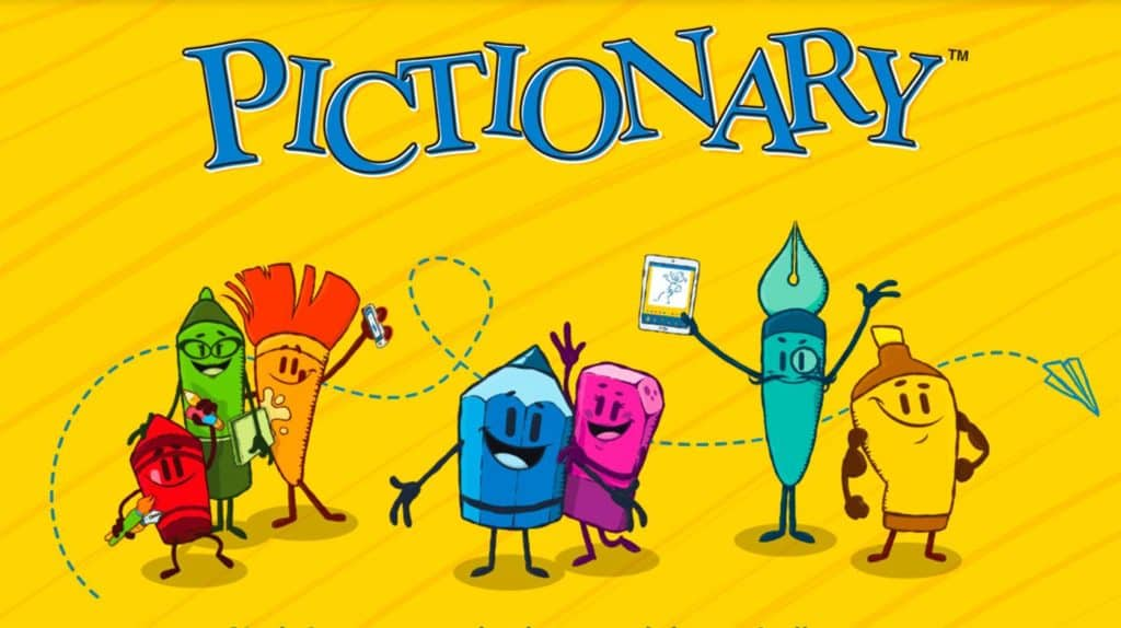 Game Ice Breaking: pictionary