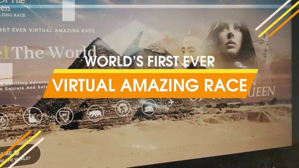 Year End Party Themes: Virtual Amazing Race