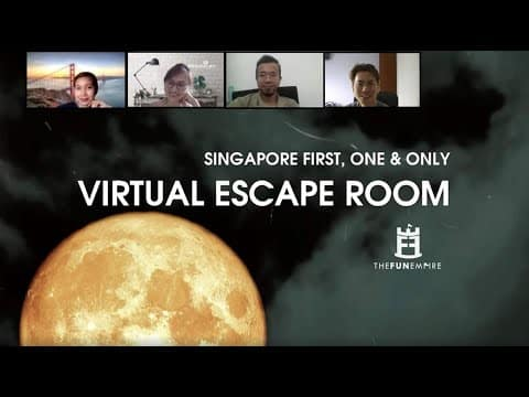 Game Ice Breaking: virtual escape room
