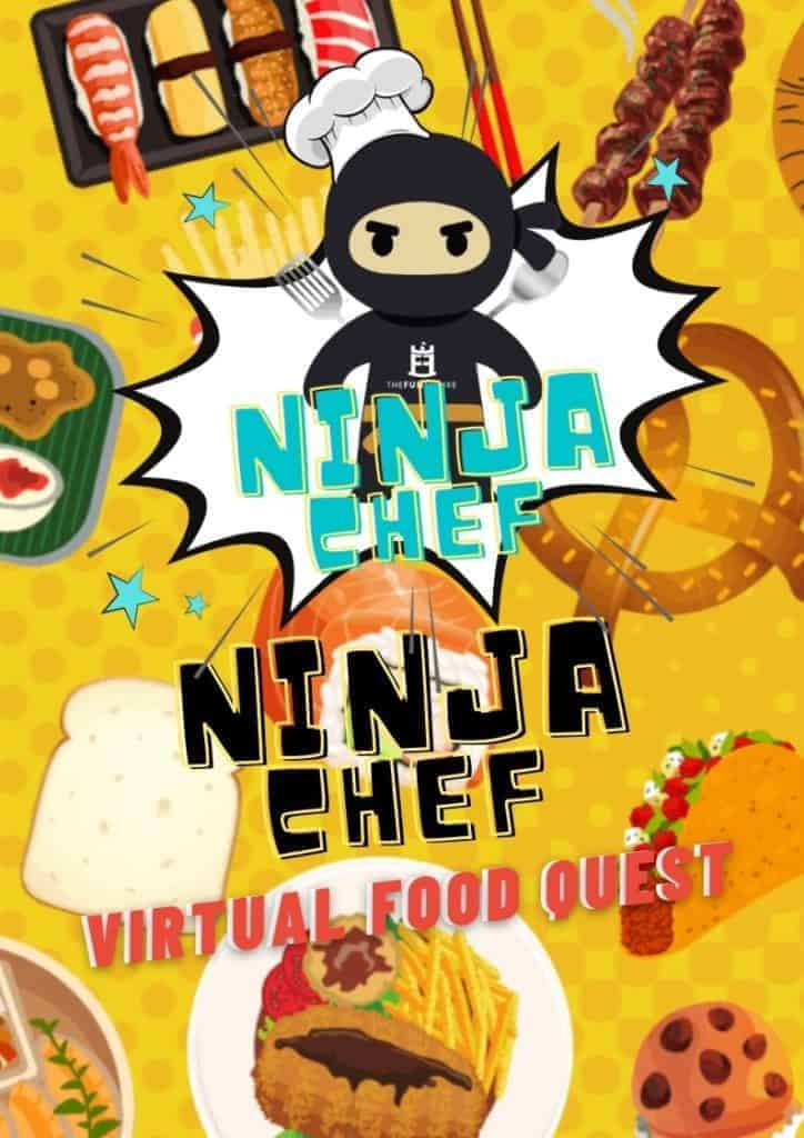 Year End Party Themes: virtual food quest