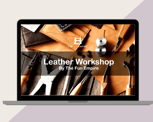 Year End Party Themes: virtual leather workshop