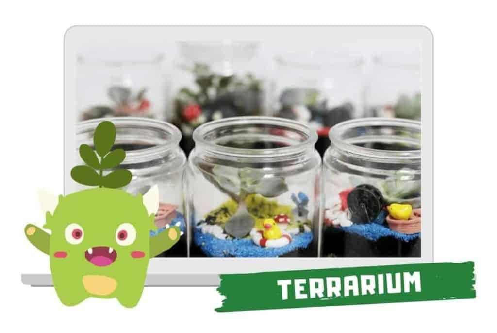 Year End Party Themes: virtual terrarium workshop